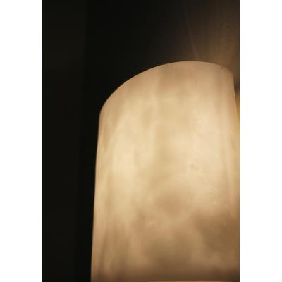 Justice Design CLD-9680 Clouds - Two Light Round Semi-Flush Mount with Ring