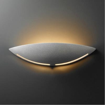Justice Design 4205 Large Slice Sconce