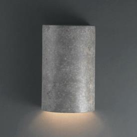 Justice Design 5940W Small Cylinder Closed Top Outdoor - ADA Sconce