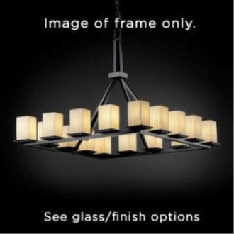Justice Design FSN-8615 Archway 4-Downlight Bar Chandelier