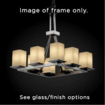 Justice Design FAL-8666 LumenAria - Eight Light Chandelier