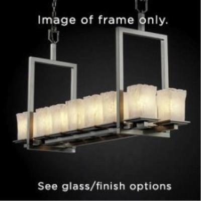 Justice Design FAL-8669 Montana - Fourteen Light Short Bridge Chandelier
