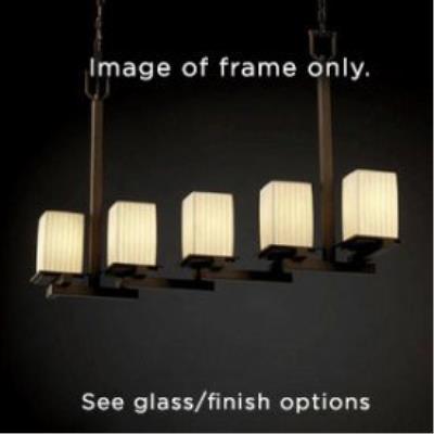 Justice Design FAL-8687 LumenAria - Five Light Chandelier