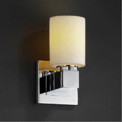 Justice Design WGL-8705 Aero 1-Light Wall Sconce (No Arms)