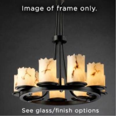 Justice Design FSN-8766 Dakota 9-Light Ring Chandelier