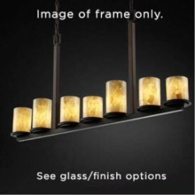 Justice Design FSN-8779 Dakota 7-Light Bar Chandelier