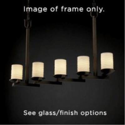 Justice Design FAL-8787 LumenAria - Five Light Chandelier