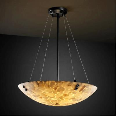 Justice Design PNA-9664 Porcelina - Eight Light Bowl Pendant