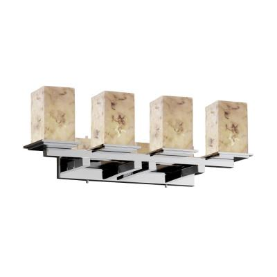 Justice Design ALR-8674 Montana - Four Light Bath Bar