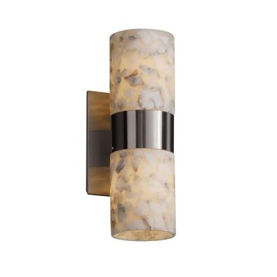 Justice Design ALR-8762 Dakota - Two Light Up and Down Wall Sconce