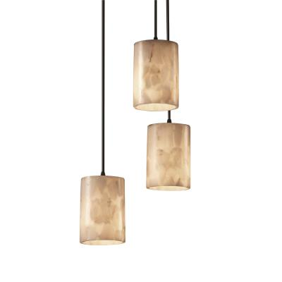 Justice Design ALR-8818 3-Light Cluster Pendant