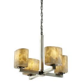 Justice Design ALR-8829 Modular Four Light Chandelier