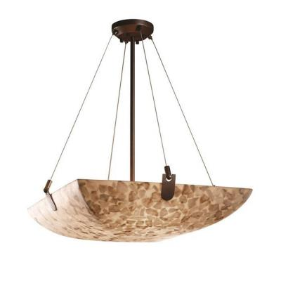 "Justice Design ALR-9624 36"" Bowl Pendant with U-Clips"