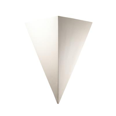Justice Design 1140W Really Big Triangle Outdoor Sconce