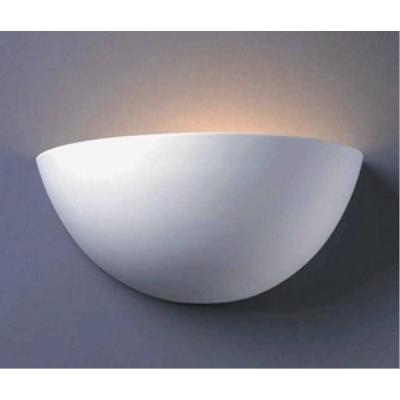 Justice Design CER-1355W Ambiance - Large Quarter Sphere Downlight Wall Sconce