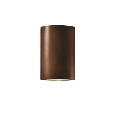 Justice Design 1885 Cylinder Corner Sconce