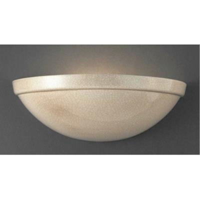 Justice Design CER-2050W Ambiance - One Downlight Rimmed Quarter Sphere Wall Sconce
