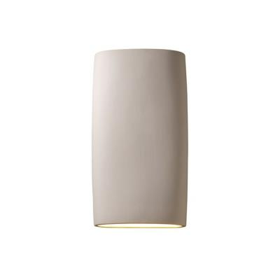 Justice Design CER-8859 Ambiance - Two Light Large Cylindrical Wall Sconce with Open Top and Bottom