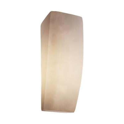 Justice Design CLD-5135 ADA Rectangle Wall Sconce