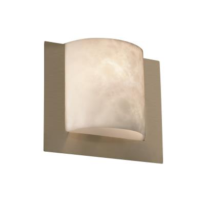 Justice Design CLD-5560 Framed Square 3-Sided Wall Sconce (ADA)
