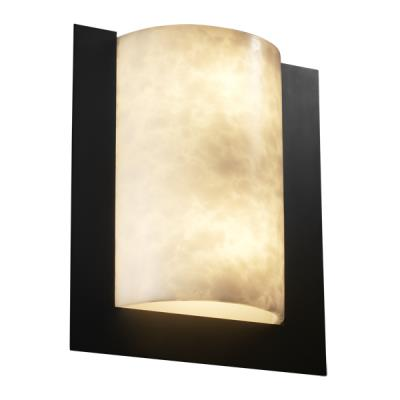 Justice Design CLD-5562 Framed Rectangle 3-Sided Wall Sconce (ADA)