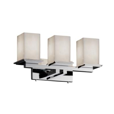Justice Design CLD-8673 Montana - Three Light Bath Bar
