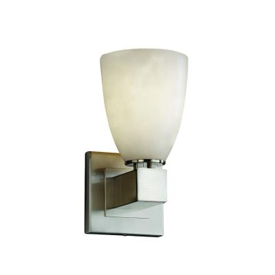 Justice Design CLD-8705 Clouds - One Light Aero Wall Sconce with No Arms