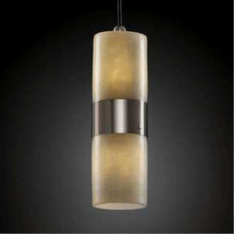 Justice Design CLD-8758 Dakota - Two Light Small Up and Down Light Pendant