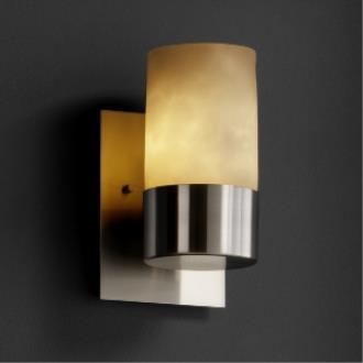Justice Design CLD-8761 Dakota - One Uplight Wall Sconce