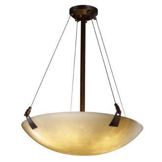 "Justice Design CLD-9649 60"" Pendant Bowl"