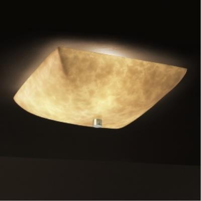"""Justice Design CLD-9671 18"""" Semi-Flush Bowl"""