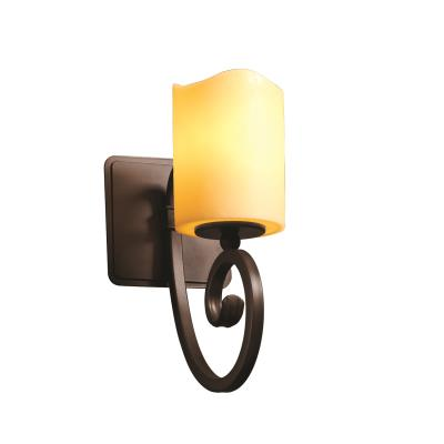 Justice Design CNDL-8571 Victoria One Light Wall Sconce