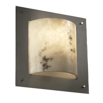 Justice Design FAL-5561 Framed Square 4-Sided Wall Sconce (ADA)