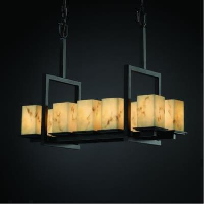 Justice Design FAL-8657 LumenAria - Ten Light Chandelier