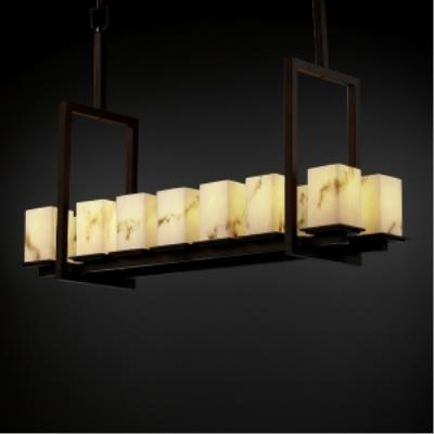 Justice Design FAL-8664 Montana - Fourteen Light Tall Bridge Chandelier