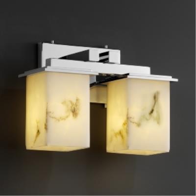 Justice Design FAL-8672 Montana - Two Light Bath Bar
