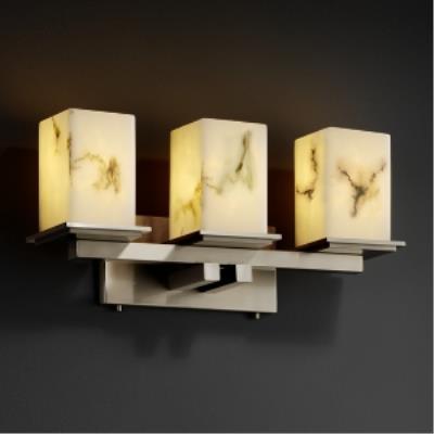 Justice Design FAL-8673 Montana - Three Light Bath Bar