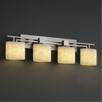 "Justice Design FAL-8704 LumenAria - 36"" Four Light Bath Bar"