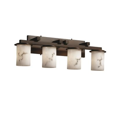 Justice Design FAL-8774 Dakota 4-Light Straight-Bar Bath Bar