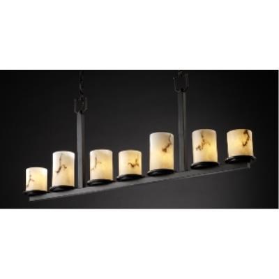 Justice Design FAL-8779 Dakota 7-Light Bar Chandelier