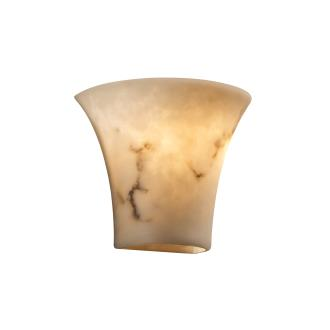 Justice Design FAL-8810 Small Round Flared Wall Sconce