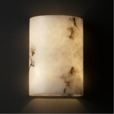 Justice Design FAL-8857 ADA Small Cylinder Wall Sconce