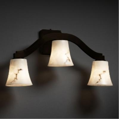 "Justice Design FAL-8976 LumenAria - 25.5"" Three Light Wall Sconce"