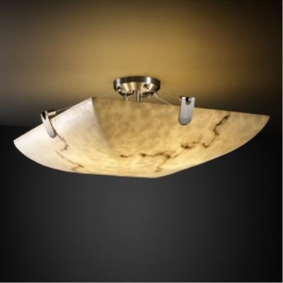 "Justice Design FAL-9614 36"" Semi-Flush Bowl"