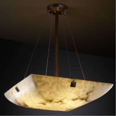 "Justice Design FAL-9667 48"" Pendant Bowl"