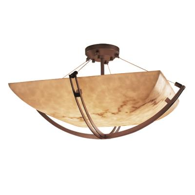 "Justice Design FAL-9717 48"" Semi-Flush Bowl"