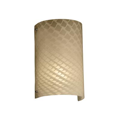Justice Design FSN-5542 Finials Curved Wall Sconce