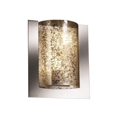 Justice Design FSN-5562 Framed Rectangle 3-Sided Wall Sconce (ADA)