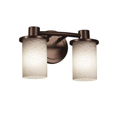 Justice Design FSN-8512 Rondo 2-Light Bath Bar