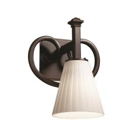 Justice Design FSN-8581 Heritage 1-Light Wall Sconce